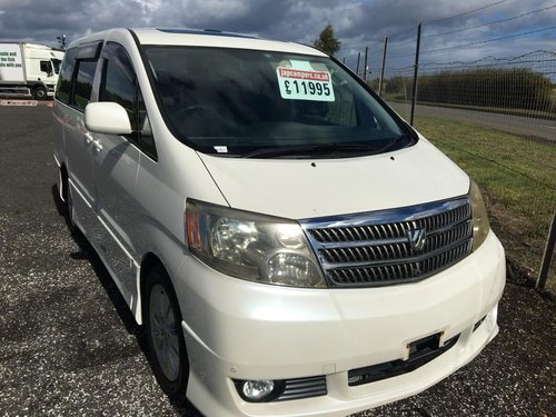 Toyota Alphard 3.0 2003 SOLD (picture 1 of 6)