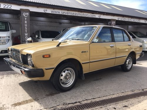 1979 Toyota Corolla Sprinter only 23,943 Miles from New For Sale (picture 1 of 6)