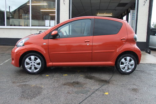 2013 TOYOTA AYGO 1.0 VVT-I FIRE AC 5DR SOLD (picture 2 of 6)