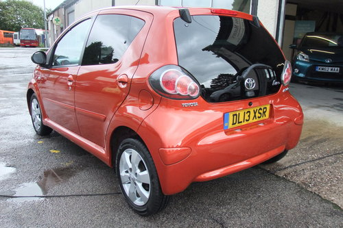 2013 TOYOTA AYGO 1.0 VVT-I FIRE AC 5DR SOLD (picture 3 of 6)