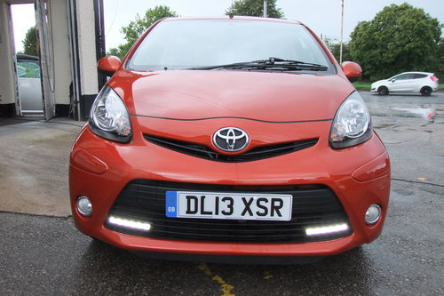 2013 TOYOTA AYGO 1.0 VVT-I FIRE AC 5DR SOLD (picture 4 of 6)