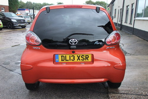 2013 TOYOTA AYGO 1.0 VVT-I FIRE AC 5DR SOLD (picture 5 of 6)