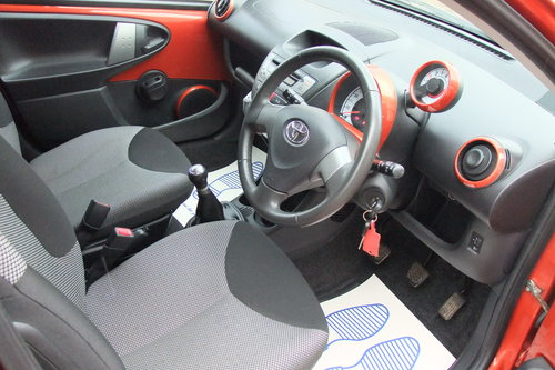 2013 TOYOTA AYGO 1.0 VVT-I FIRE AC 5DR SOLD (picture 6 of 6)