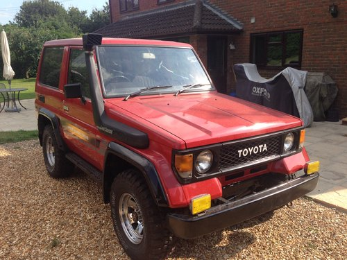 1989 Land Cruiser LJ 70 very low mileage and like new SOLD (picture 2 of 6)