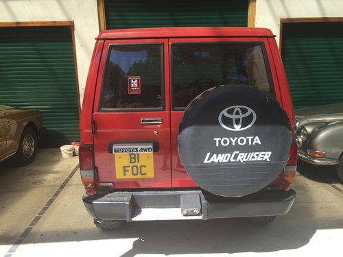 1989 Land Cruiser LJ 70 very low mileage and like new SOLD (picture 3 of 6)