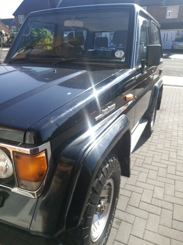 Toyota Land Cruiser 1989 LJ 70 2.4 Diesel VX Turbo For Sale (picture 4 of 6)