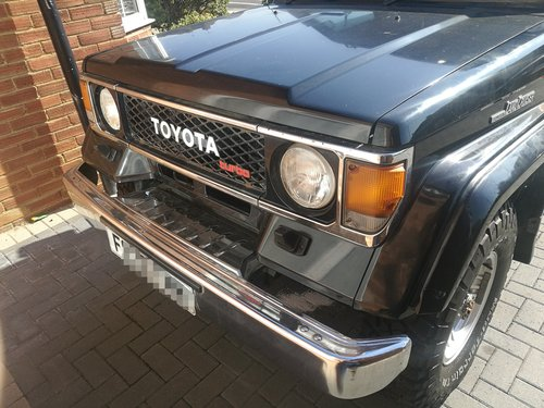 Toyota Land Cruiser 1989 LJ 70 2.4 Diesel VX Turbo For Sale (picture 5 of 6)
