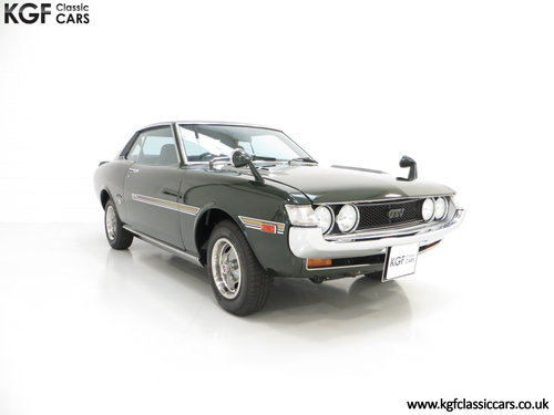 1972 An Incredible Factory Correct TA22 Toyota Celica GTV  SOLD (picture 1 of 6)