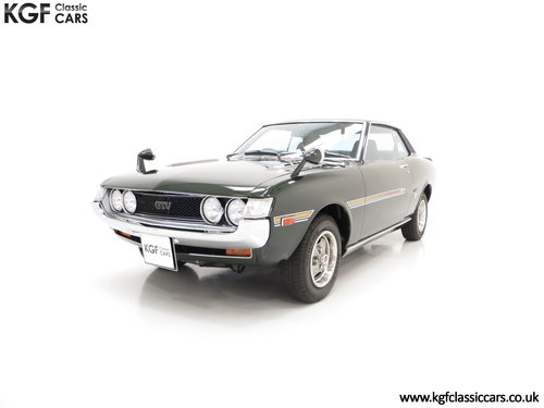 1972 An Incredible Factory Correct TA22 Toyota Celica GTV  SOLD (picture 2 of 6)