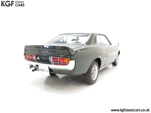 1972 An Incredible Factory Correct TA22 Toyota Celica GTV  SOLD (picture 5 of 6)