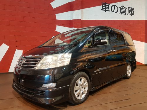 2007  ALPHARD AX L EDITION * 2.4 AUTO 8 SEATS PARKING CAMERAS For Sale (picture 1 of 6)