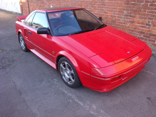 1985 MR2 Mk1,  50, 950 miles only For Sale (picture 1 of 6)