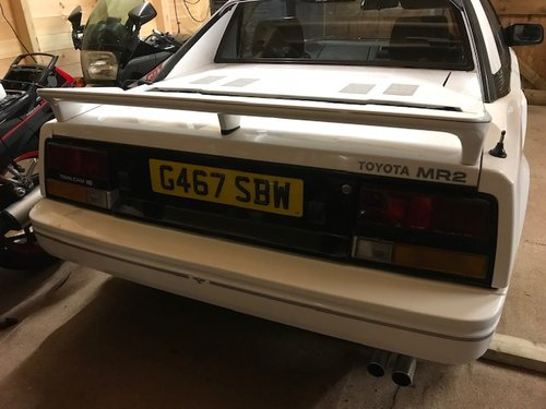 1989 TOYOTA MR2 MK1 SUNROOF MODEL EXCELLENT CONDITION SOLD (picture 3 of 6)
