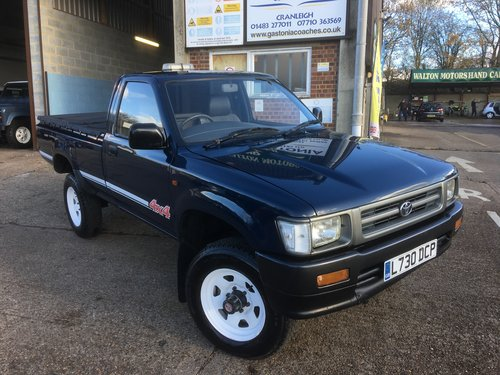 1993 TOYOTA HI LUX 2.4 DIESEL 4WD TRUCK For Sale (picture 1 of 6)