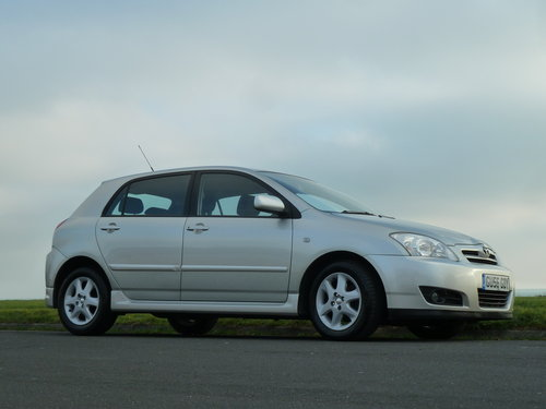 2006 COROLLA 2.0 D-4D TURBO DIESEL COLOUR COLLECTION 5DR  SOLD (picture 1 of 6)