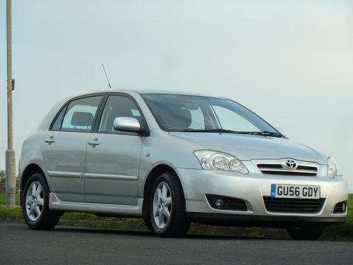 2006 COROLLA 2.0 D-4D TURBO DIESEL COLOUR COLLECTION 5DR  SOLD (picture 2 of 6)