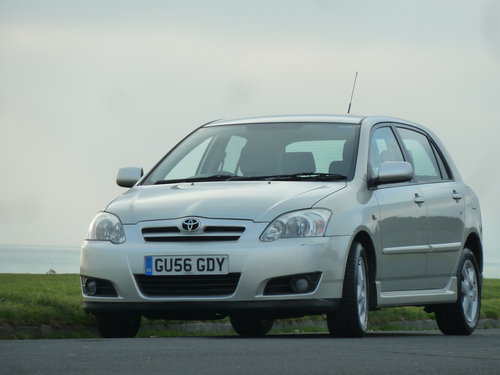 2006 COROLLA 2.0 D-4D TURBO DIESEL COLOUR COLLECTION 5DR  SOLD (picture 6 of 6)