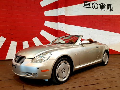 TOYOTA SOARER 2001 LEXUS SC 430 COUPE CONVERTIBLE * V8 *  SOLD (picture 1 of 6)