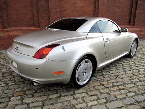 TOYOTA SOARER 2001 LEXUS SC 430 COUPE CONVERTIBLE * V8 *  SOLD (picture 2 of 6)