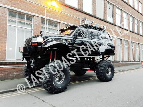 Toyota Land Cruiser Monster Truck For Sale Car And Classic