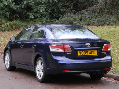 2009 Toyota Avensis T4 Auto.. Only 32,000 Miles.. FSH.. Top Spec SOLD (picture 5 of 6)