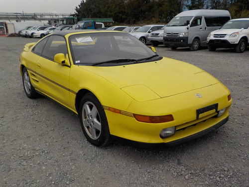 1993 TOYOTA MR2 RARE YELLOW T-BAR G LIMITED 2.0 AUTOMATIC * For Sale (picture 1 of 6)