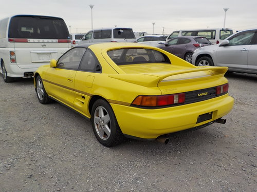 1993 TOYOTA MR2 RARE YELLOW T-BAR G LIMITED 2.0 AUTOMATIC * For Sale (picture 2 of 6)