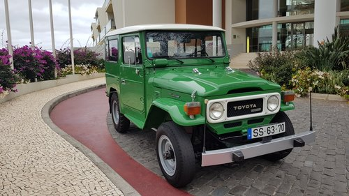 1980 Land Cruiser BJ40  68000 Kms  (42500 Mls) from new For Sale (picture 1 of 6)