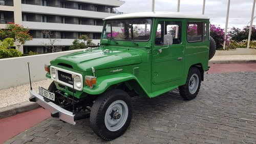 1980 Land Cruiser BJ40  68000 Kms  (42500 Mls) from new For Sale (picture 2 of 6)