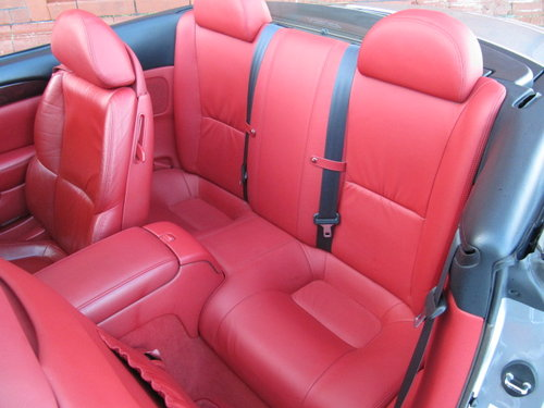 2003 LEXUS SC 430 CONVERTIBLE V8 RED LEATHER For Sale (picture 4 of 6)