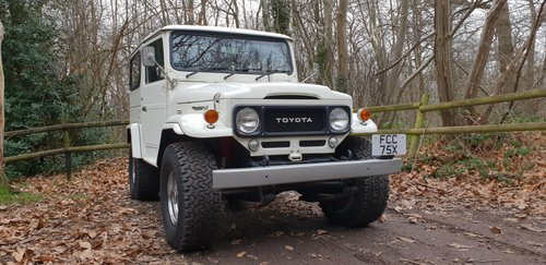 Toyota landcruiser FJ40 LX 1982 V8 For Sale (picture 3 of 6)