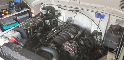 Toyota landcruiser FJ40 LX 1982 V8 For Sale (picture 4 of 6)