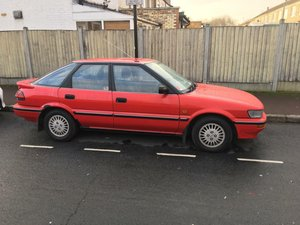 1991 Toyota Corolla 1.6 Petrol Red For Sale