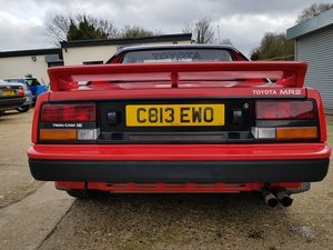 1986 red beautiful first to see will buy,mr2 mk1