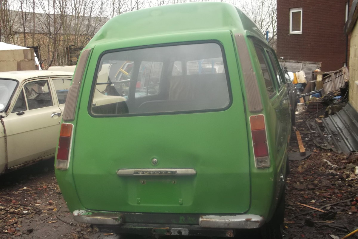 1978 Toyota LiteAce Estate Diesel Van RHD  For Sale (picture 5 of 6)