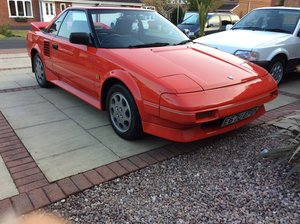 1987 Toyota Mr2 mk1 sunroof model red SOLD
