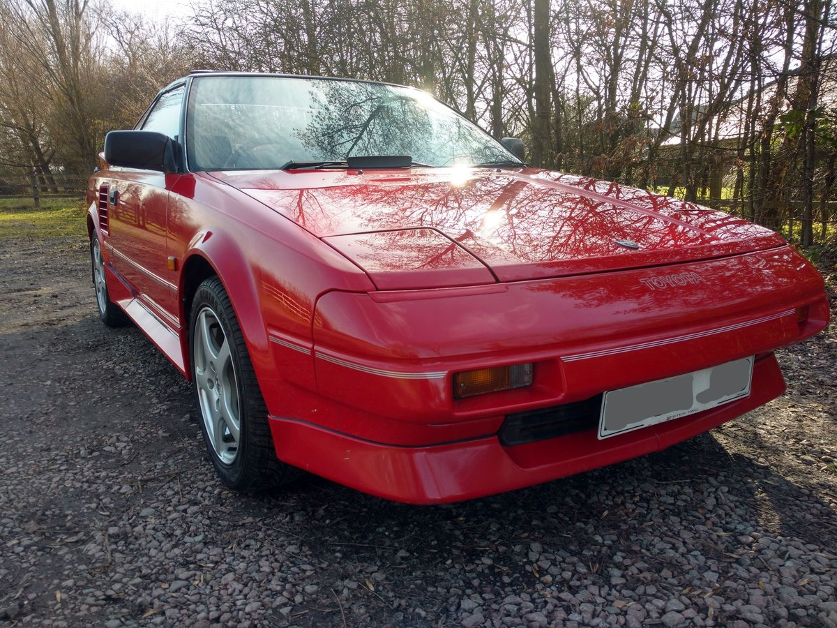 1988 MR2 MK1. 133000, amazing original condition For Sale (picture 1 of 6)