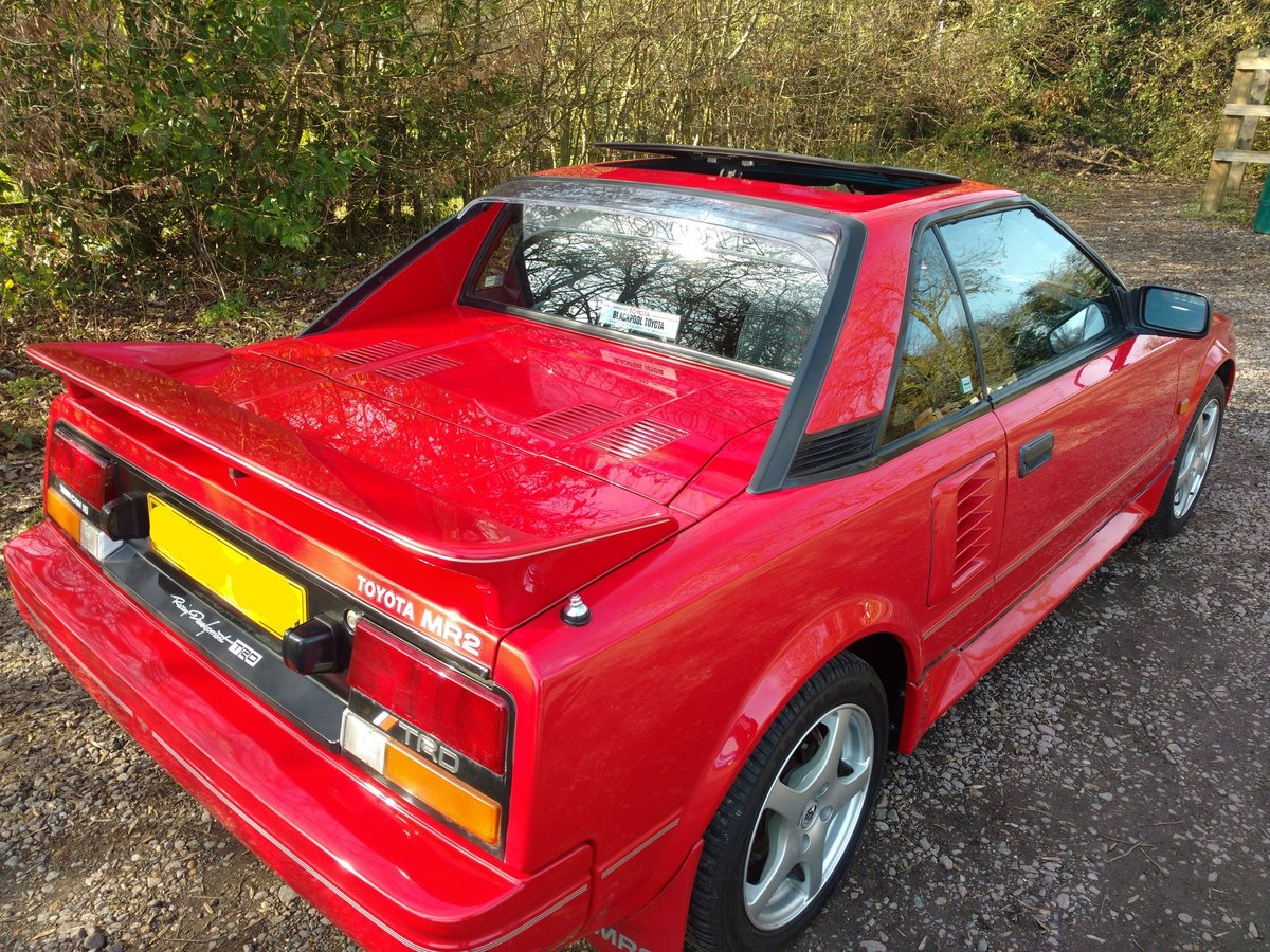 1988 MR2 MK1. 133000, amazing original condition For Sale (picture 2 of 6)