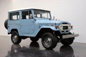 1973 Toyota FJ40 Land Cruiser = Full Restored Blue $49.9k For Sale