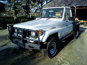 1991 toyota landcruiser hzj75 diesel ute For Sale