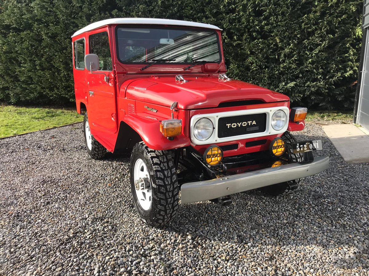 1984 Fully restored, frame off, Toyota Landcruiser BJ40 For Sale (picture 1 of 6)
