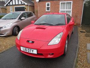 2001 Toyota Celica VVTI Private plate included