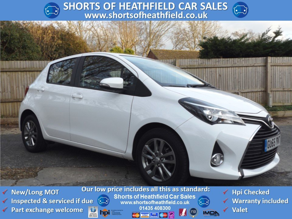 Toyota Yaris 1.33 VVT-i (99BHP) Icon 2015/65 SOLD (picture 1 of 1)