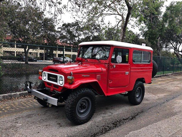 1981 Toyota FJ43 Land Cruiser For Sale (picture 1 of 6)