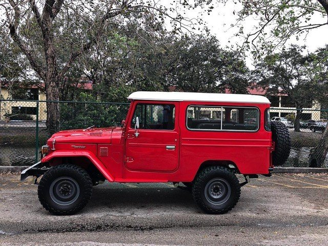 1981 Toyota FJ43 Land Cruiser For Sale (picture 2 of 6)
