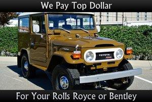 1975 Toyota Land Cruiser = Diesel Full Restored Tan $47k For Sale