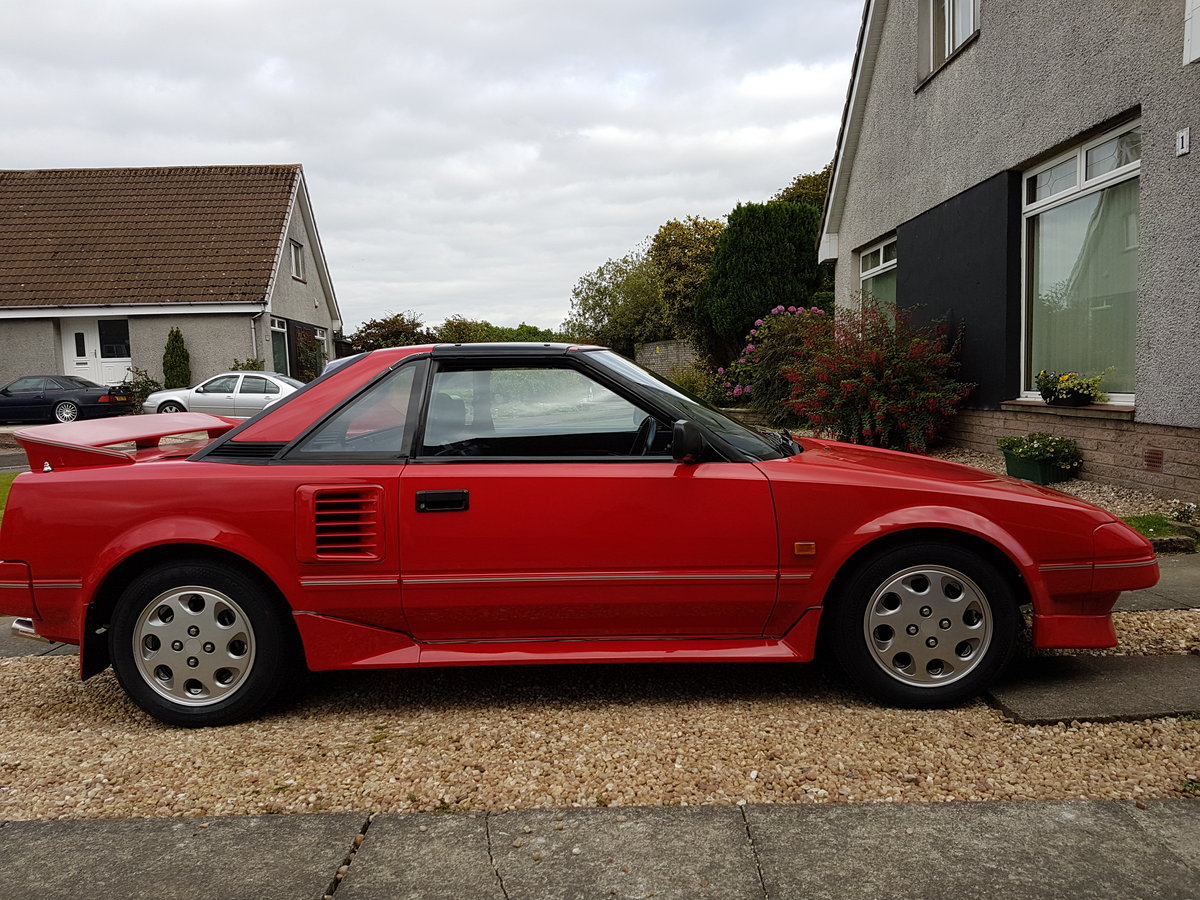 1989 Toyota MR2 Mk1 T Bar For Sale (picture 2 of 6)