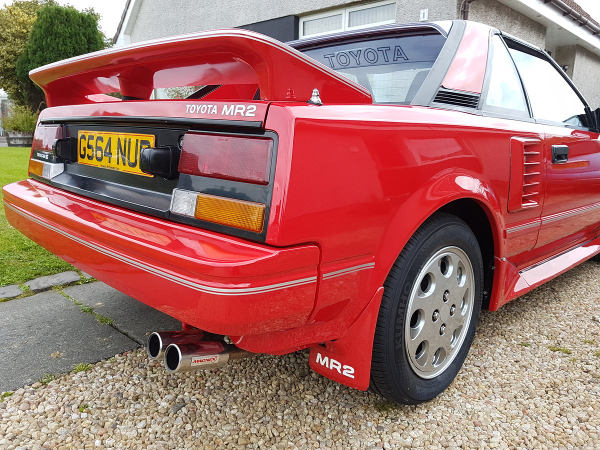 1989 Toyota MR2 Mk1 T Bar SOLD (picture 5 of 6)