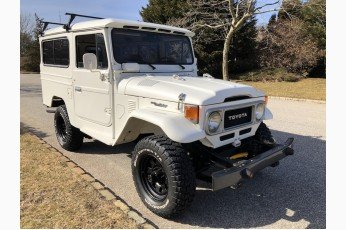 1981 Toyota Land Cruiser FJ43 4x4 = Clean Ivory driver  $45k For Sale