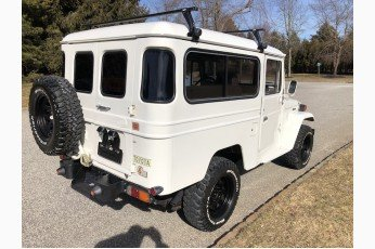 1981 Toyota Land Cruiser FJ43 4x4 = Clean Ivory driver  $45k For Sale (picture 2 of 6)